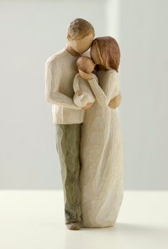 Willow tree figurines my little family ❤