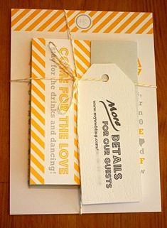 @Studio Calico Yellow and craft! And the font is delish! (via @Kellee Conrad