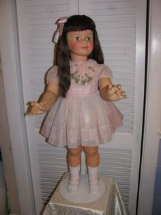 My Patti Playpal doll looked much like this... until I cut her hair! Every time my Mom would make me a new dress, she'd make a matching one for Patti! Sweet!