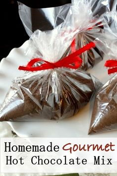 Homemade Gourmet Hot Chocolate Mix