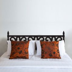 Fav! Queen Carved Wood Headboard Wall Decal by Katazoom on Etsy, $39.99
