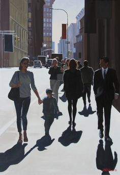 Communications urbaines - Nicolas street #rire # #Odinet #peinture #oilpainting #art #Hopper #Light #fineart #artcontemporain #art #marciano #gallery #galerie #Paris #rivoli #galeriemarciano Painting People, Figure Painting, Meaningful Paintings, Architecture Drawing Sketchbooks, Art Deco Font, Urban People, Human Body Art, Winter Art Projects, Art Pictures