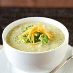 Easy Cream of Broccoli-Cheese Soup Recipe - ZipList