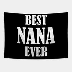 Nana Tapestries Page 3 | TeePublic Nana Grandma, Tapestries, Atari Logo, Best Gifts, Logos, Hanging Tapestry, Tapestry, Logo, Wallpapers