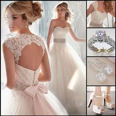 Awesome Wedding Dresses  Find More: http://www.imaddictedtoyou.com/