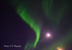 Blissful Solitary Wanderings: Aurora Painted The Sky Again!