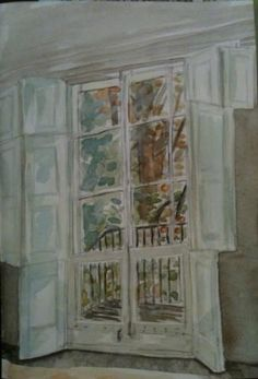 At Turner's House (Sandycombe Lodge) watercolour