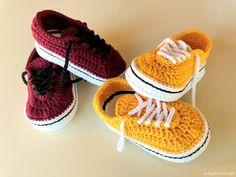 Crochet Baby Vans by Yara Baby Knitting Patterns, Baby Patterns, Crochet Patterns, Doll Patterns, Crochet For Kids, Free Crochet, Knit Crochet, Knitted Baby, Baby Vans