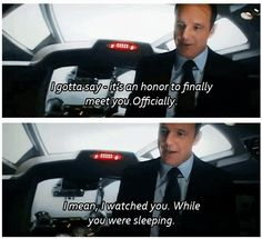 LOL oh that Coulson!