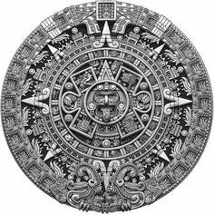 Wallpaper Ramadhan, Azteca Tattoo, Aztec Tattoo Designs, Chicano Art Tattoos, Cholo Art, Statue Tattoo, Tattoo For Son, Full Back Tattoos, Aztec Calendar