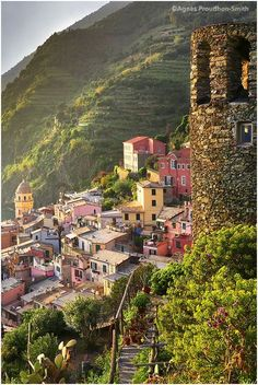 Vernazza, Italy with compliments of http://www.exquisitecoasts.com/
