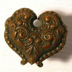 Antique Heart shape door knob