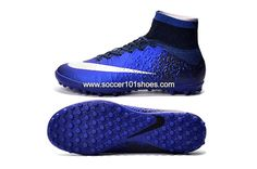 654756f06 Nike Kids Mercurial Superfly CR7 TF Royal Blue Diamond Football Boots  Soccer Shoe | Kid's football shoes