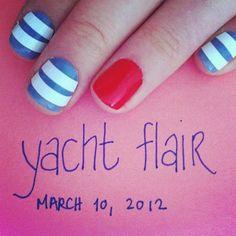 my yacht flair mani.