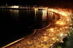 Noche de San Juan en la playa : D