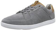Boxfresh CLADD INC SDE/LEA GRIF GRY/TAN Herren Sneakers - http://on-line-kaufen.de/boxfresh/boxfresh-cladd-inc-sde-lea-grif-gry-tan-herren