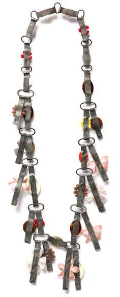 Helen Britton - CORNUCOPIA exhibition at Sienna Gallery - All works 2012, Plastics, steel, silver, glass.