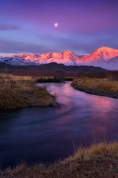 Sierra Sunrise, Owens River, California, by James Fougere, on 500px.