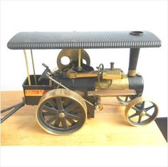 """WILESCO D406 """"OLD SMOKEY"""" BUNDLE BLACK/BRASS STEAM ROLLER TRACTION WI/ EXTRAS Listing in the Other,Vintage & Antique,Toys & Hobbies Category on eBid United States"""