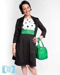 Apple Bodyshape: Workwear Look, #style #fashion apple body shape workwear clothing