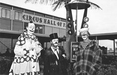 The Circus Hall of Fame opens in 1956 across from the Sarasota-Bradenton airport