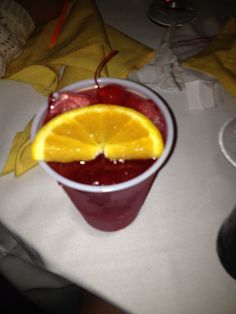 "A ""Bahama Mama"" I drank at my cousin Kari's wedding reception. *Amanda Gard (Mandi Gard's) photography*"