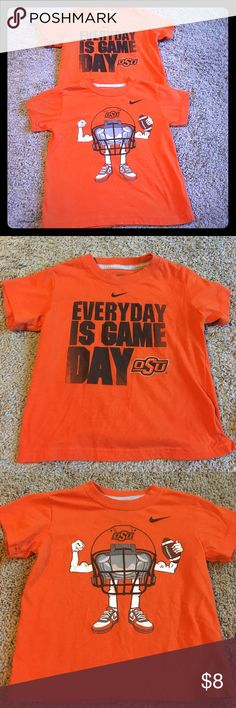 NIKE OSU T-Shirt bundle. Size 3T College Football Bundle of 2 NIKE OSU T-shirts. Fantastic condition and lots of game day wear. Size 3T. My items are priced to sell and all sensible offers considered. Nike Shirts & Tops Tees - Short Sleeve