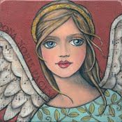 Madonna, Angel Artwork, Angel Drawing, I Believe In Angels, Angels Among Us, Angels In Heaven, Pictures To Paint, Face Art, Mixed Media Art