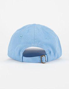 Solid Twill Dad Hat Blue