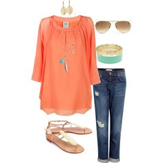 coral pop....cute for spring and summer