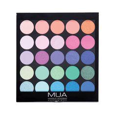 MUA Eyeshadow Palette Tropical Oceana 054