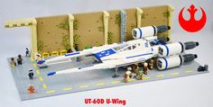 As I mentioned in my review of the LEGO Star Wars 75155 Rebel U-wing Fighter set released ahead of Rogue One, I wasn't a big fan of the new vehicle until I saw it in action in the movie. But seeing it dropping Rebel commandos onto the beaches of Scarif and provide close air support …