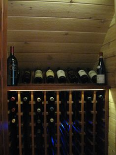 small wine room under basement stairs Under Stairs Wine Cellar, Wine Cellar Basement, Under Basement Stairs, Staircase Storage, Stair Storage, Tuscan Living Rooms, Home Wine Cellars, Wine Storage, Basement Remodeling