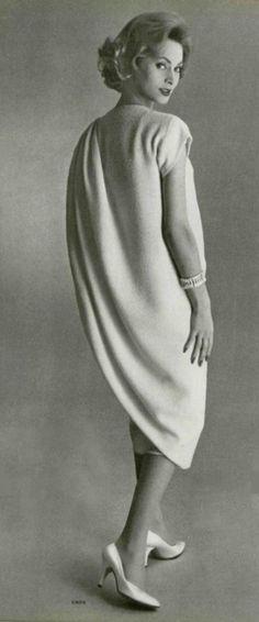 Modello abito di Madame Gres 1958