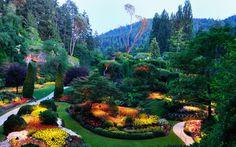 Lange Walls - Widescreen garden image - 1680x1050 px