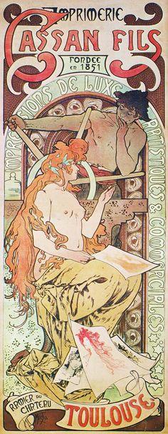 A24 Imprimerie Cassan Fils, 1897.
