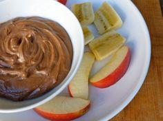 Weight Watchers Chocolate Peanut Butter Dip Recipe Desserts with low-fat vanilla yogurt, peanut butter, unsweetened cocoa powder