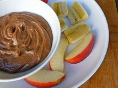 Chocolate peanutbutter dip  1 cup low fat vanilla yogurt  3 tablespoons peanut butter  1 tablespoons unsweetened cocoa powder    Directions:    In a small bowl, whisk together the yogurt, peanut butter and cocoa powder until well blended and creamy.  Serve wit