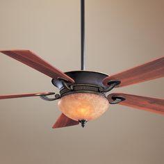 "52"" Delano Dark Restoration Bronze Ceiling Fan"