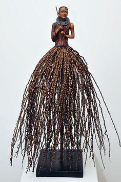 masai wood sculpture finishing - Google Search