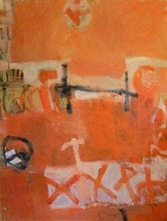 Margaret Glew | Firewalking | 2009 Artwork | Abstract Painting *****