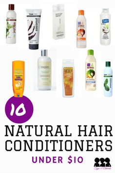 10 Natural Hair Conditioners Under $10