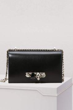 50e69d924d48 Alexander McQueen Jewelled satchel