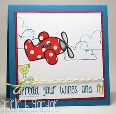 Snappy Stampin' w/ Arielle: FLY / CQC #140...