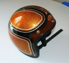 Vintage motorcycle helmet..for my Dan!