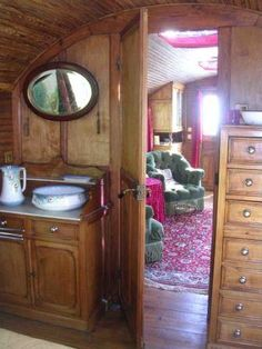 Gypsy wagons in the French countryside | Les Ardillats