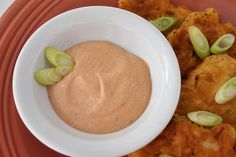 Chipotle Mayo Dip~ I added garlic and lime juice~AMAZING~ we are adding this to everything~ sushi, eggs, sandwiches, burritos,etc...
