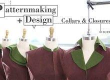 Patternmaking + Design Collars & Closures Online Class