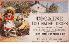 Cocaine for children? What could possibly go wrong? | 22 Vintage Adverts That Would Be Banned Today