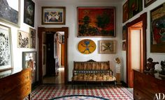 Inside the Enchanting Villa That Inspired Enrico Baj's Work Photos | Architectural Digest